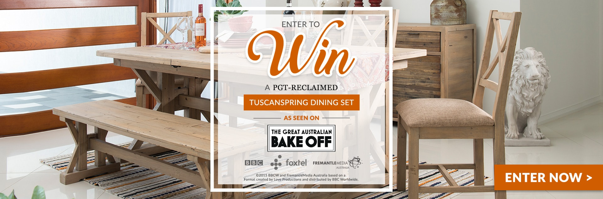 tuscanspring dining set contest