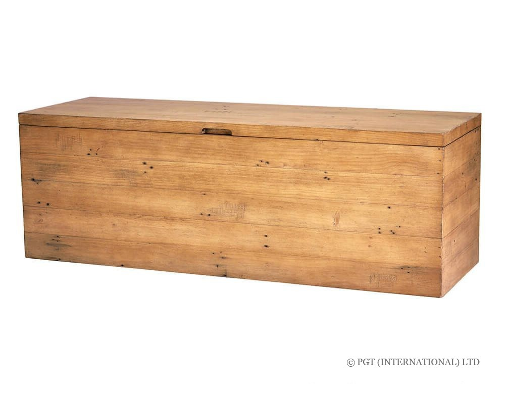 Bayyview Collection recycled wood blanket box