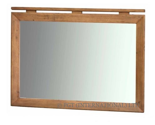 Bayview Collection reclaimed timber mirror