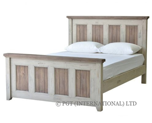 Brittany Collection reclaimed timber bed frame