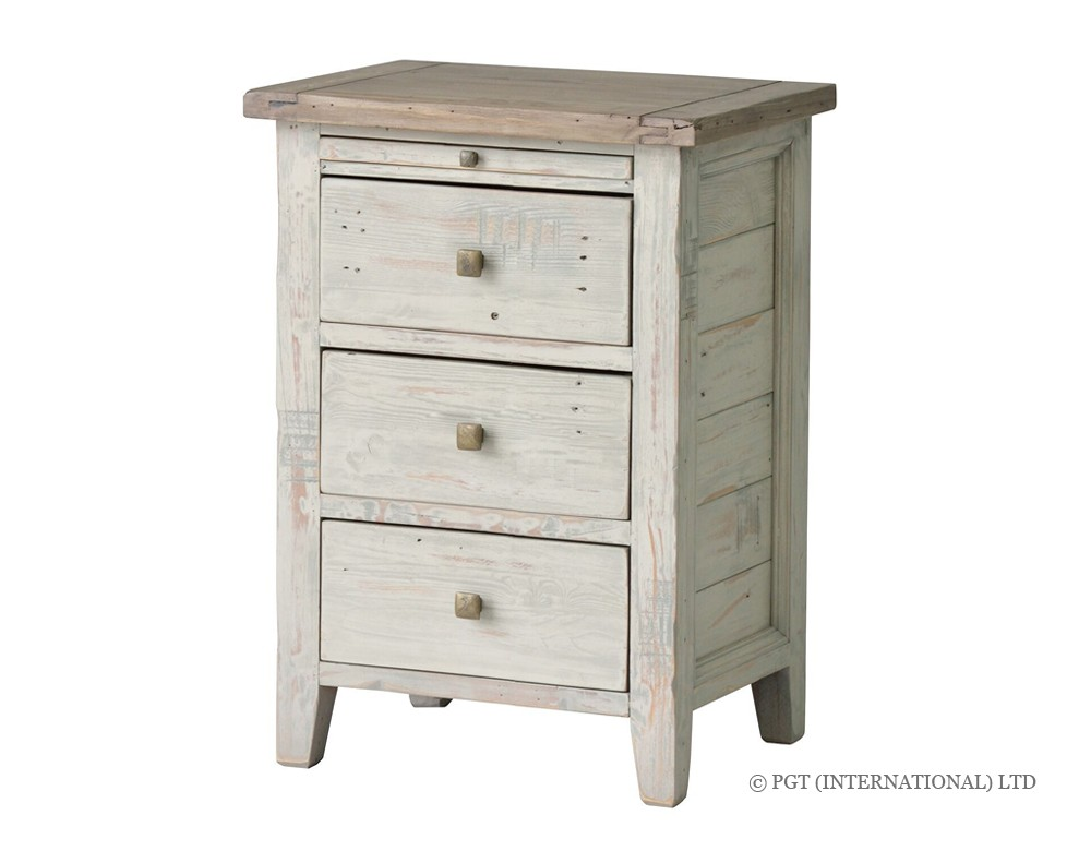 brittany reclaimed timber bedside table