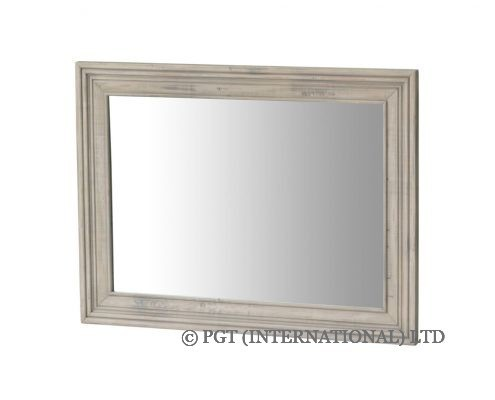 brittany reclaimed timber mirror