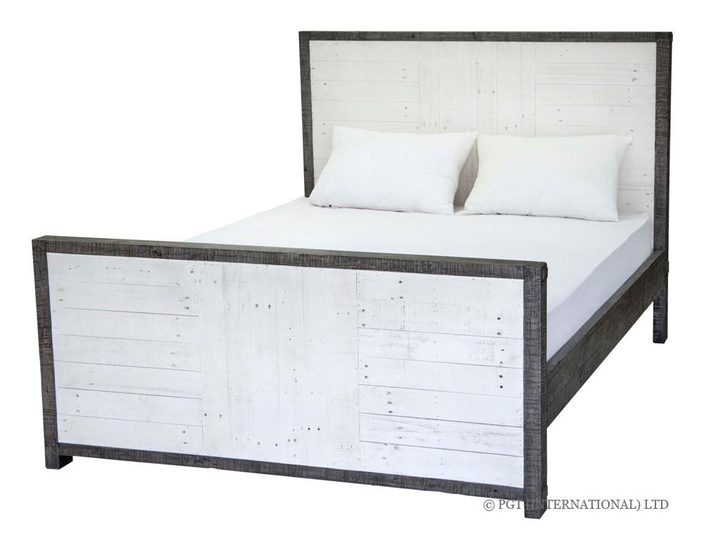 Calais recycled timber bed