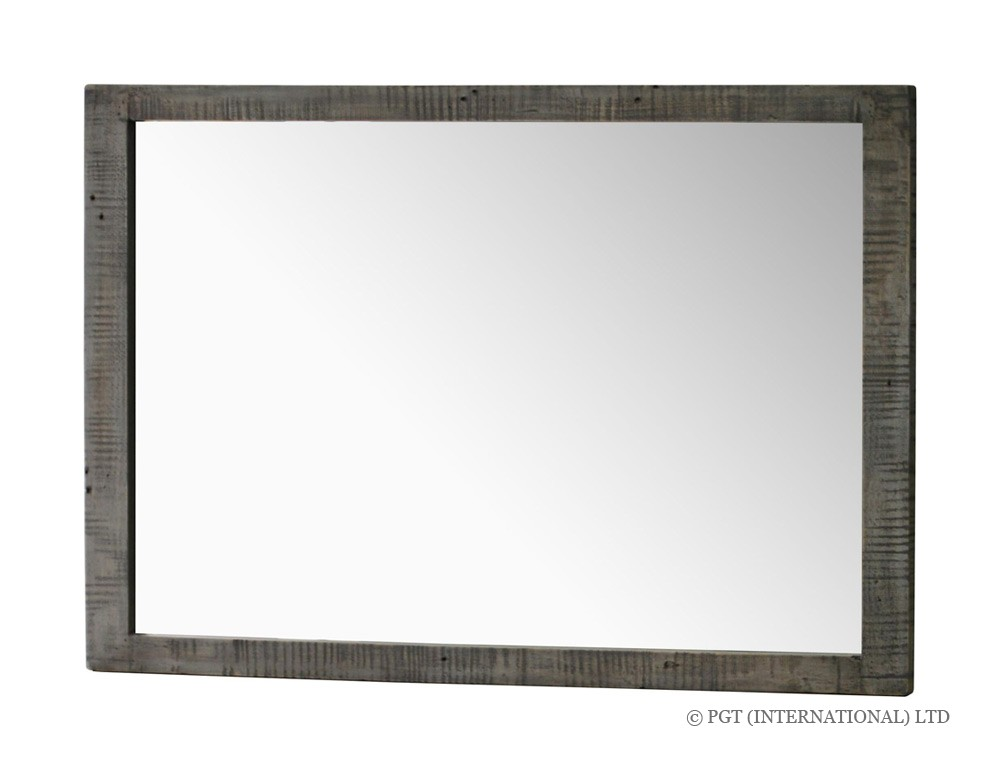 Calais Collection recycled timber mirror