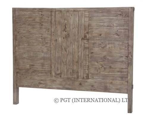 cannes collection recycled timber bed head