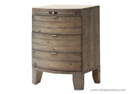 Cast Away Wide Bedside Cabinet