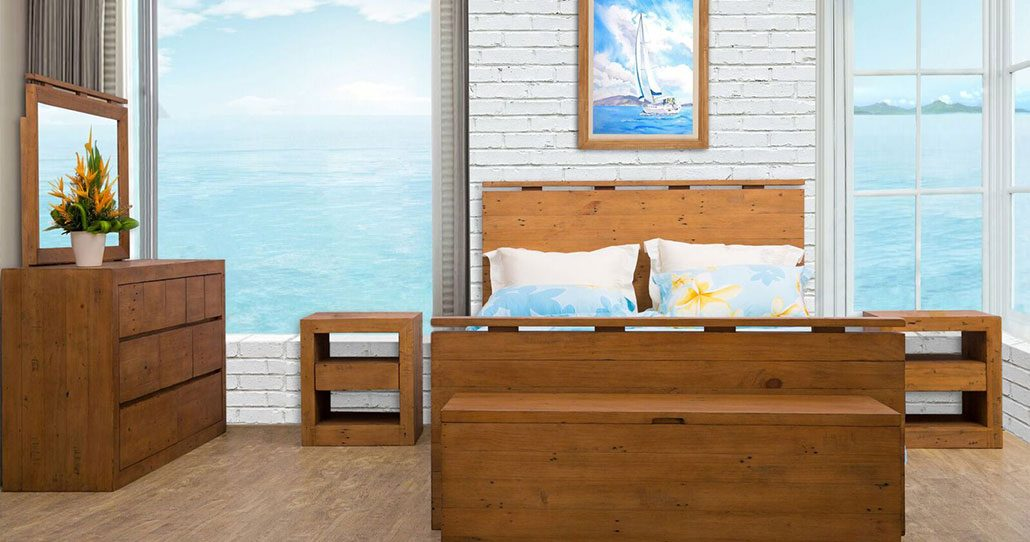 bayview collection wooden bedroom suite