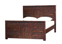 Cocobu Collection recycled timber bed frame