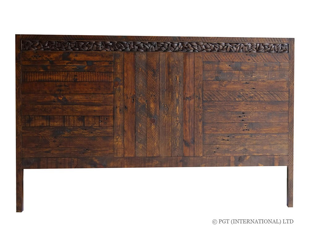 Cocobu Colelction reclaimed timber bed head