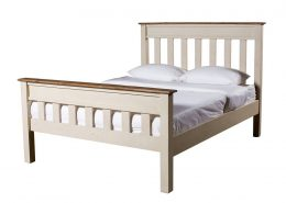 Cornwall Collection recycled timber bed frame