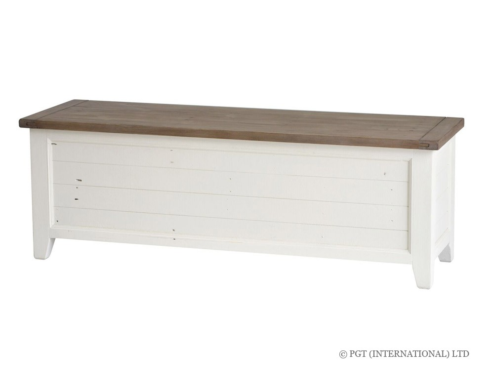 cotswolds reclaimed timber blanket box