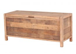 Indepenedence recycled wood chest blanket box