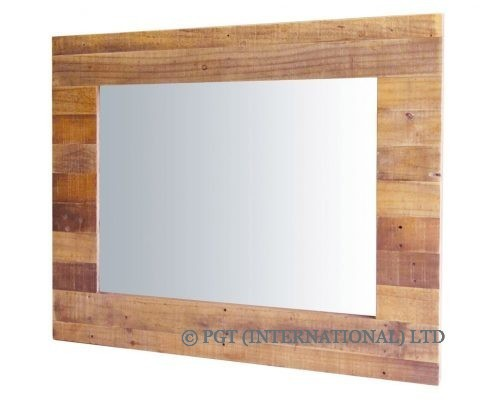Independence solid timber mirror