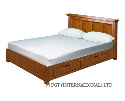 irish coast storage reycled timber bed