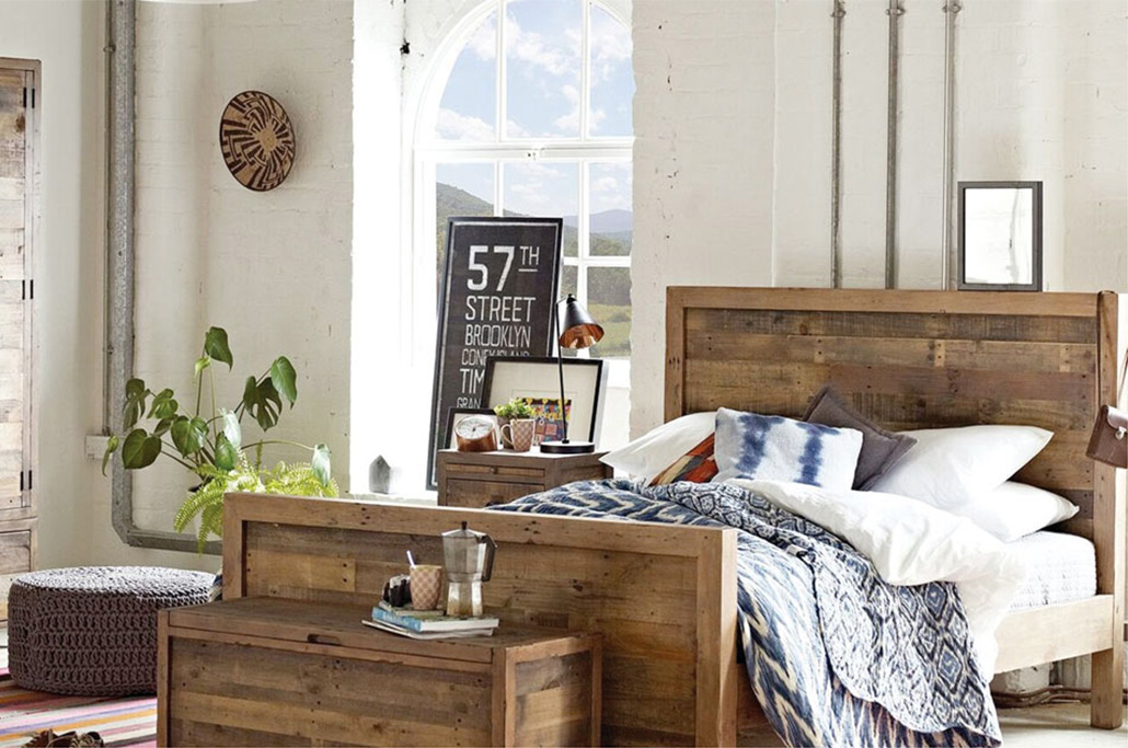 independance collection wooden bedroom furniture
