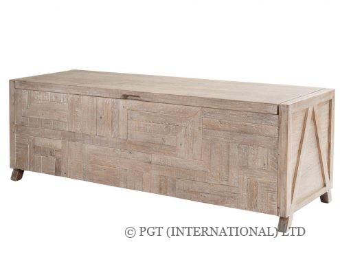 Rhodes reclaimed timber blanket box