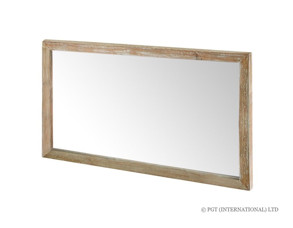 rhodes recycled timber mirror