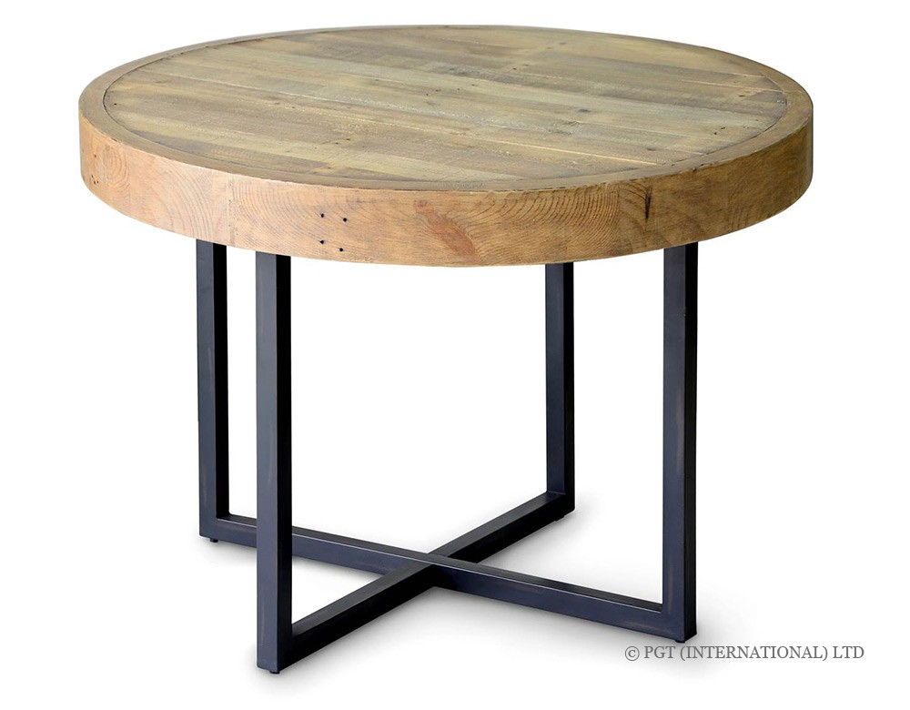 Woodenforge Collection recycled timber round table