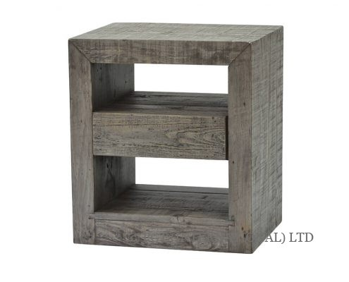 rustic bayview bedside cabinet