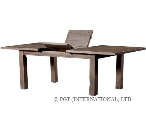 settler extending dining table