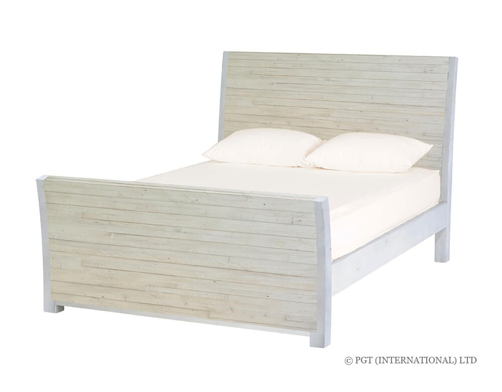 Trulli Collection reclaimed timber bed frame