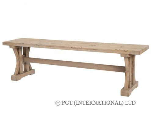 tuscanspring classic timber furniture bench