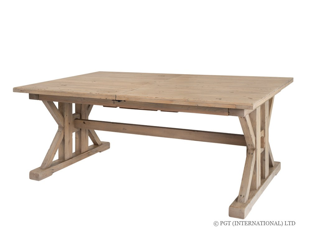 Tuscanspring reclaimed timber dining table