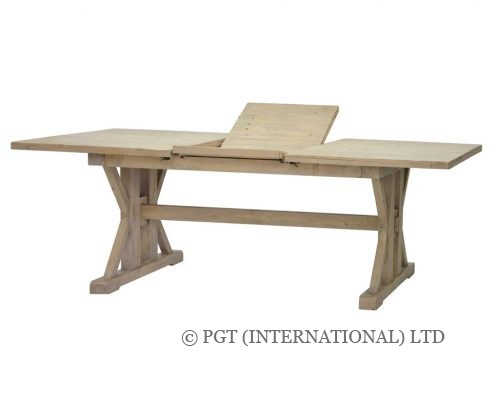 tuscanspring reclaimed wood dinig table