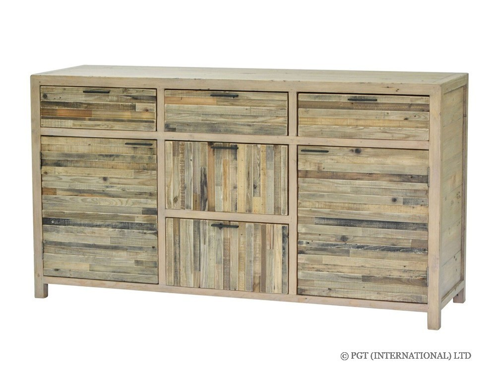 tuscanspring recycled timber large buffet