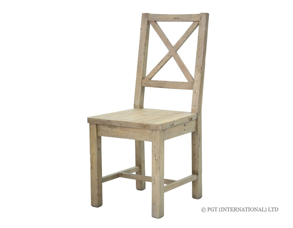 tuscanspring collection reclaimed timber chair