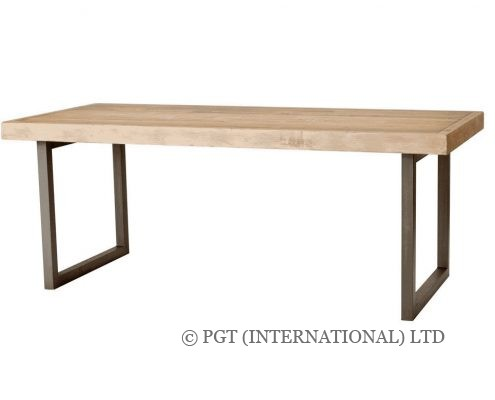 Woodenforge reclaimed timber dining bench