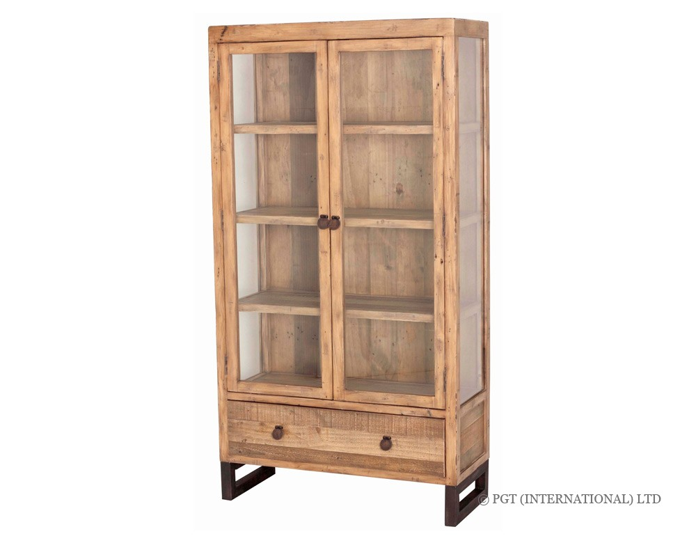 woodenforge display cabinet