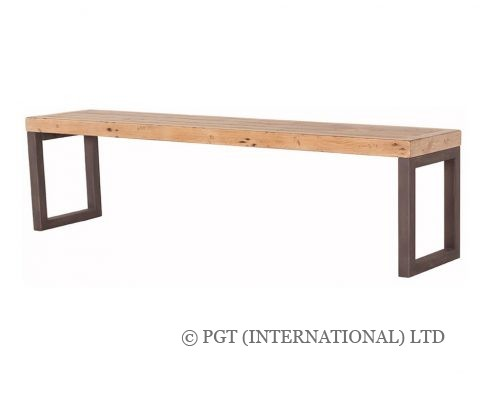 Woodenforge Collection recycled timber bench